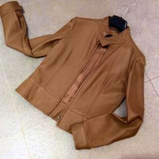 Giordano Ladies Leather Jacket