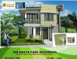 3Bedrooms house and lot in Sta.Rosa Laguna