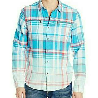 plaid shirt by GUESS