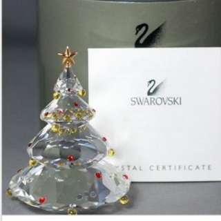 Swarovski 擺設 Christmas tree