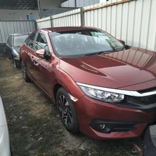 New honda civic fc 2018