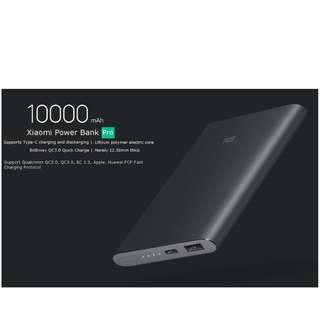 Mi Power Bank Pro 10000mAh