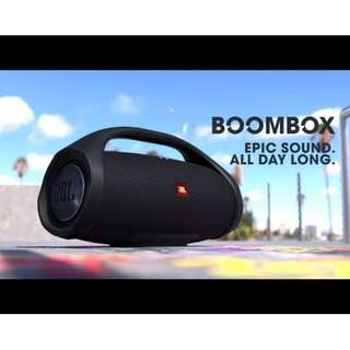 JBL Boombox Portable Speakers  (Brand New in Box)