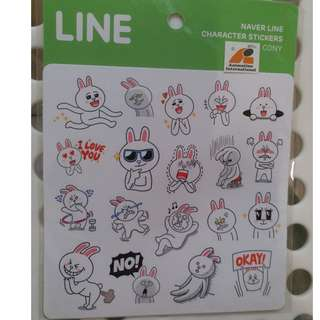 LINE (Naver Line Character Stickers - Cony)
