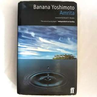 Amrita by Banana Yoshimoto (hardbound)