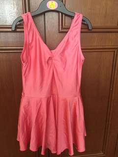 Pink Leotard for dance classes 6-8 years old