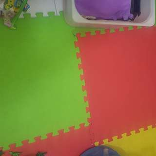 Jollykidz Play Mat Foam 12 Pieces RM150.00