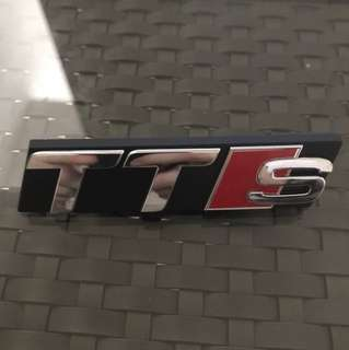 Genuine Audi TTS Front Grill Badge