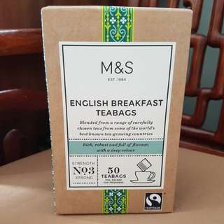 English breakfast 50 teabags