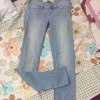 Hollister light blue leggings