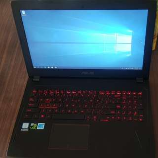 Asus GTX1060 FX502VM gaming laptop