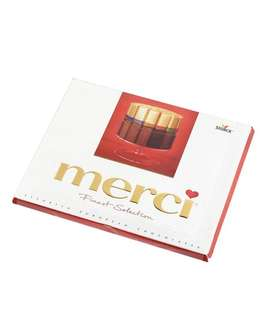 Merci Assorted European Chocolate 20pcs 蜜思雜錦朱古力 20條