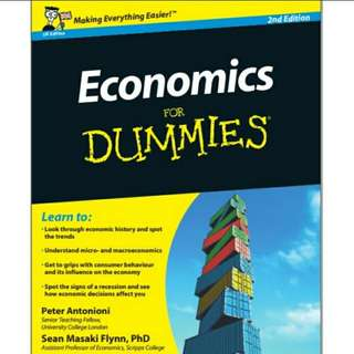 Ebook Economics For Dummies®, 2nd Edition