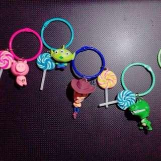 玩具總動員手作鑰匙圈✨✨