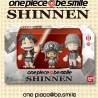 Buy any items and get this One Piece@be.smile -SHINNEN- (3pcs) [Event Exclusive] at half price