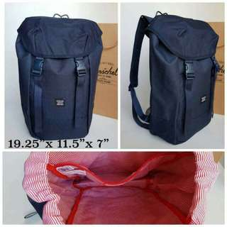 Herschel Backpack Bag Navy Blue
