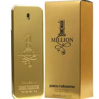Paco Robanne 1 Milio...  0  Paco Robanne 1 Milion XMas Collector EDT Spray 100ML