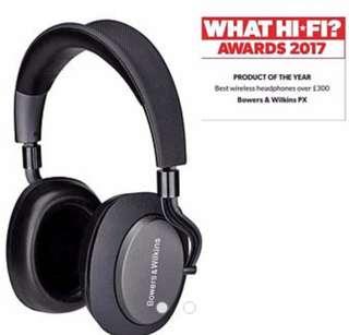 B&W PX Wireless (Space Grey)