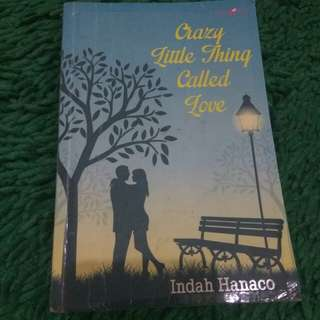 Buku Novel (Crazy little Thing Called Love)