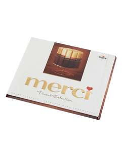 Merci Assorted European Dark Chocolate 20pcs 蜜思黑朱古力20條
