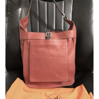 HERMES clemence leather marwari PM bag (stamp M)