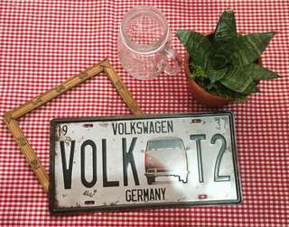 Vintage/Retro Volkswagen Metal Sign