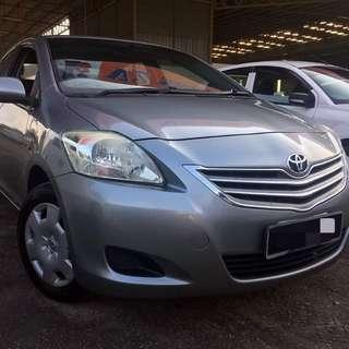 Toyota Vios 1.5 manual 2011 RM43,800 siap semua on the road No hidden cost No gst Full loan (deposit 0) Bulanan RM5++ x 9 tahun Min gaji RM2000 Kalau ada duit muka bulanan lain kira