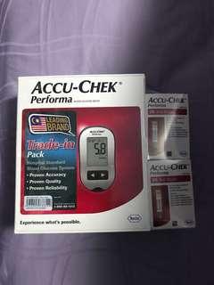 ACCU-CHEK Performa Blood Glucose Meter c/w 50 Test Strips