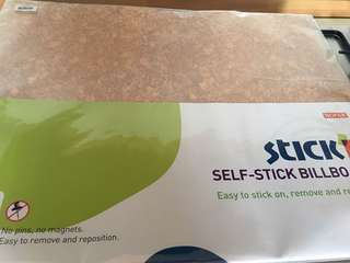 Self stick bill board