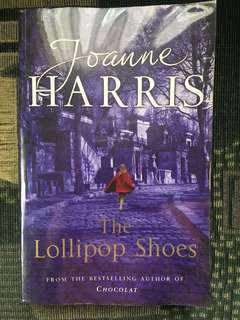 BOOK FOR SALE: The Lollipop Shoes by Joanne Harris