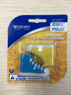 Westcott Eraser (sneakers shape)