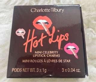 Charlotte Tilbury mini celebrity lipstick set of 3