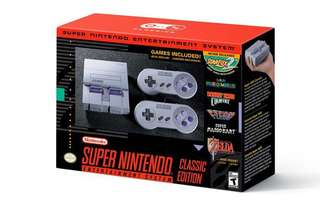 Super NES Classic Edition system