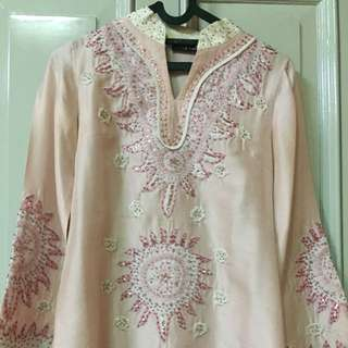 Beaded Top Sofie Collection Baby Pink