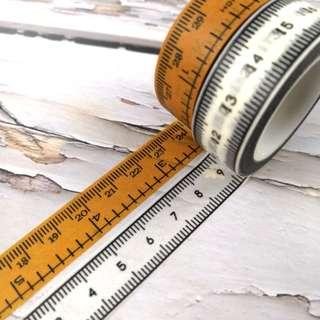 2款呎MT紙膠帶分裝 2 ruler design Washi Tape Samples