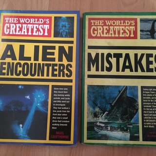 The world greatest alien encounters/ mistakes