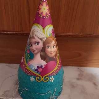Frozen party hats