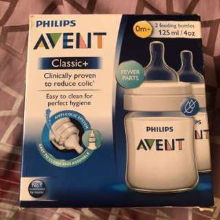 Brand New Avent Classic 4oz baby bottles (twinpack) free shipping in Metro Manila (Shipping only!!)