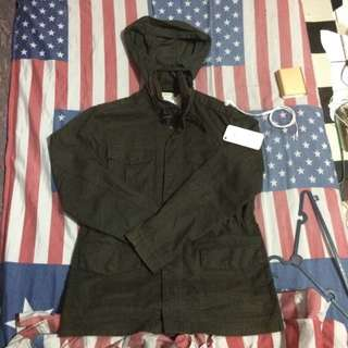 PARKA ARMY MADE IN CHINA
