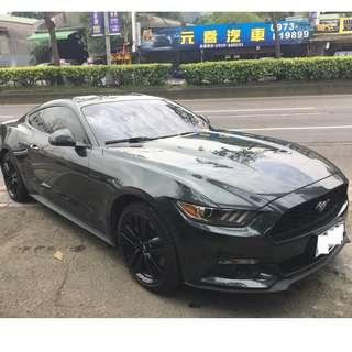 2015年 Ford Mustang 120.8萬 便宜出清野馬2.3 限量軍綠紀念版 目前總代理保固中!
