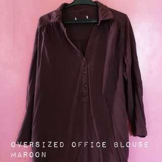 Oversized Office Blouse