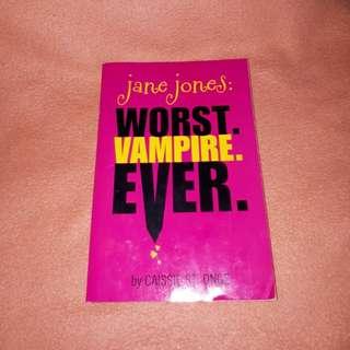Jane Jones (Worst Vampire Ever) by Cassie Onge