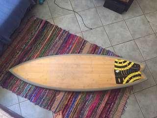 """SSI Bamboo 5'6"""" Surfboard"""