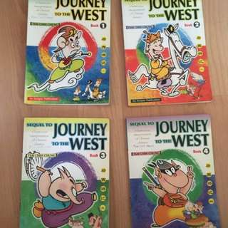 Journey to the west comic collection( 4 volumes)