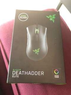 Razer Deathadder Elite雷蛇 煉獄奎蛇 菁英版