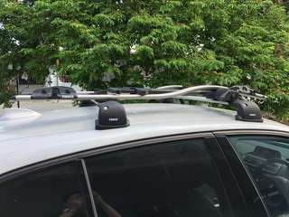 Roof Rack (bmw 116D only, full set)