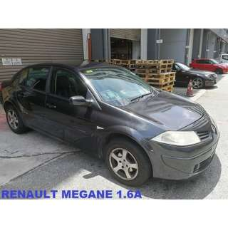 Renault Megane Sedan 1.6 Auto