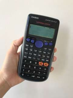 Casio Scientific Calculator fx-82AU PLUS II