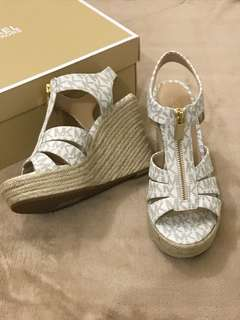 Authentic Michael Kors wedge sandals