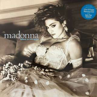 Madonna Like A Virgin record vinyl lp